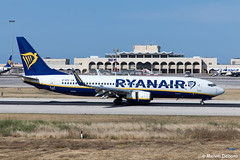 Ryanair Boeing 737-8AS  |  EI-DPZ  |  LMML (Melvin Debono) Tags: ryanair boeing 7378as | eidpz lmml cn 33616 melvin debono spotting canon eos 5d mark iv ef 24105mm f4l is ii usm plane planes photography airport airplane aircraft malta mla