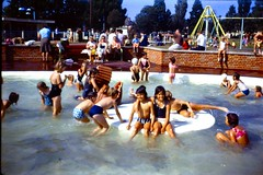 510_AndyDebAug1972 (wrightfamilyarchive) Tags: andy debbie wright august 1972 holiday swimming pool vacation swimmers 1970s 70s seventies