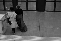 no title (Giorgos Voulgaris) Tags: nikon d5300 bw blackwhite digital street streetphotography candid girls dress athens stphotographia