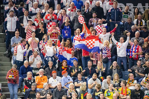 Croatian Fans in Cologne Handball World Championship 2019