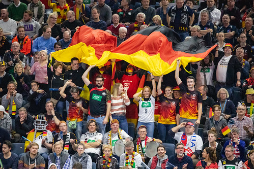 German Fans in Cologne Handball World Championship 2019