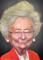 Kay Ivey - Caricature (DonkeyHotey) Tags: kayivey kayellenivey abortionban governor alabama donkeyhotey photoshop caricature cartoon face politics political photo manipulation photomanipulation commentary politicalcommentary campaign politician caricatura karikatuur karikatur