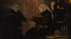 Blood and Gold (Jillian-613) Tags: skyrim tes games screenshot elves elf altmer vampire necromancer