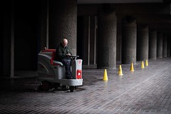Barbican London 2019 (XBeauPhoto) Tags: april2019 architecture london barbican brutal brutalism candid citylife concrete perspective pillars streetphoto streetphotography urban