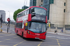 IMGP9650 (Steve Guess) Tags: vauxhall lambeth london england gb uk bus station tfl transportforlondon wright gemini3 lk17agv arriva