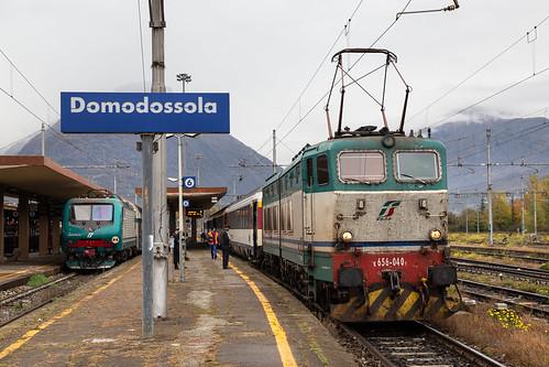 FS E 656 040 Caimano a Domodossola (I)