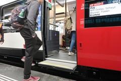SBB Giruno by Stadler (Kecko) Tags: 2019 kecko switzerland swiss suisse svizzera schweiz zürich zurich zh europe eisenbahn railway railroad zug train sbb stadler rail group rabe501 uic938505010067chsbb giruno smile gotthardzug door türe einstieg entrance swissphoto geotagged geo:lat=47378160 geo:lon=8537770