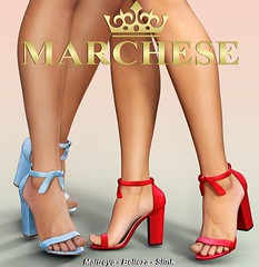 Marchese - Mia X Tres Chic (...:::MARCHESE:::...) Tags: maitreya marchese belleza secondlife shoes slink mesh treschic heels