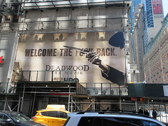 2019 Deadwood The Movie Billboard Times Square 8468 (Brechtbug) Tags: deadwood the movie billboard timothy olyphant ian mcshane molly parker kim dickens brad dourif keith carradine john hawkes jeffrey jones number one times square building below no longer existing orange news zipper ticker 42nd street broadway near 7th avenue new york city 05182019 next walgreens nyc hbo tv series 2004 2006 show television cable 2019