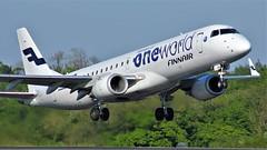 OH-LKN (AnDyMHoLdEn) Tags: finnair oneworld embraer egcc airport manchester manchesterairport 23l