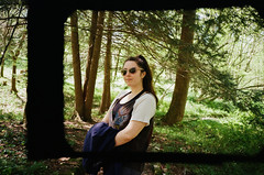 lindsbae again! (carmen_canedo) Tags: 35mm minolta portrait sewanee tennessee hiking nature
