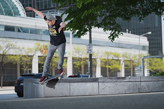 Jake Back Smith in Cleveland, Ohio (keithknittel) Tags: skateboarding cleveland ohio sony a7iii 90mm macro