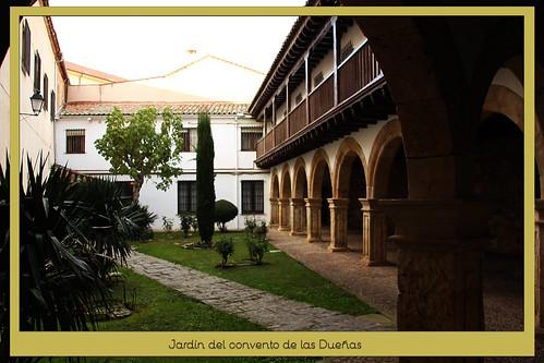 Jardín del convento de las Dueñas, dominicas