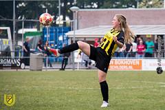 Baardwijk MO17-1 vs DVVC MO17-1 (46 van 54) (MiGe Fotografie) Tags: baardwijk baardwijkmo171 meisjesvoetbal meisjes meisjesonderde17 sportparkolympia waalwijk competitie canon80d fotografie hobbyfotografie hobby