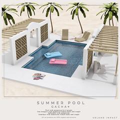 {YD}Summer pool ({Your Dreams}) Tags: pool summer yourdreams gacha senseevent