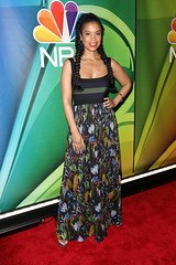 (noname_photos) Tags: nbc upfront presentation 2019 arrivals four seasons hotel new york usa 13 may susan kelechi watson actor female personality 80489989