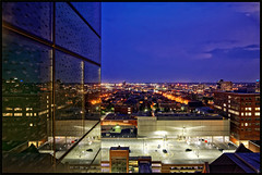 2015/138: Baltimore Reflections (Rex Block) Tags: nikon d750 dslr 1835mm building reflection glass horizon skyline night light baltimore maryland project365 365the2019edition 3652019 day138365 18may19 ekkidee 2015138baltimorereflections