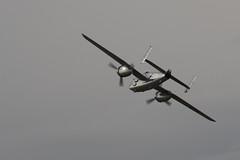 B-25 Bomber (siamesepuppy) Tags: hanger24brewery redlands california may18th2019 aeroplane airplane plane airshow ccattributionlicense creativecommons cclicense redlandsmunicipalairport b25 bomber