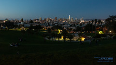 Taking In the San Francisco Blue Hour From Mission Dolores Park (AvgeekJoe) Tags: 1835mmf18dchsm a california d5300 dslr missiondolorespark nikon nikond5300 sanfrancisco sigma1835mmf18 sigma1835mmf18dchsmart sigma1835mmf18dchsmartfornikon sigmaartlens usa bluehour