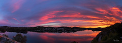"""Evening view"" (Terje Helberg Photography) Tags: panorama cloudporn clouds cloudscape flamingsky landscape nature pano panoramic sky skyporn skyscape sunset"