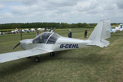 G-CEHL (IndiaEcho) Tags: gcehl ev97 eurostar eghp popham airport airfield light general civil aircraft aeroplane aviation basingstoke hampshire england canon eos 1000d microlight fly in