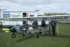 G-CKIZ (IndiaEcho) Tags: gckiz eurofly minifox eghp popham airport airfield light general civil aircraft aeroplane aviation basingstoke hampshire england canon eos 1000d microlight fly in