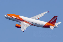G-EZUR (IanMackie) Tags: easyjet airbus a320 a320214 gibraltar manchester aircraft