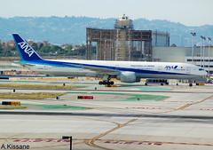 ALL NIPPON AIRWAYS B777 JA733A (Adrian.Kissane) Tags: 777 ana lax b777 ja733a 2042016 32648 la outdoors jet plane aircraft aeroplane airliner airport boeing sky