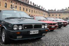 pianetadelta (lorellabianchi) Tags: piazza raduno delta piazzaducale vigevano cars sport auto