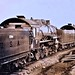 Three locomotives ready for duty. Locomotive Assembling Plant. St. Nazaire, Loire Inferieure, France 11-19-17 NARA111-SC-67110
