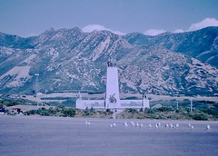 "Found Photo - ""This is the Place"" Monument (Mark 2400) Tags: found photo this is place monument utah morman lds"