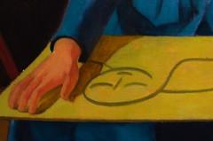 Particolari di Casorati (Colombaie) Tags: roma cultura arte palazzomerulana lazio scuola romana pittura scultura novecento artisti 25 giacomoballa giacomoballadalfuturismoastrattoalfuturismoiconico visita guidate visite tour turismo lgbt gay friendly omosessuale omosessuali insieme assieme gruppo persone tempolibero appassionati scoprire approfondire città collezionecerasi falicecasorati studio artista particolare tavola modella donna mano