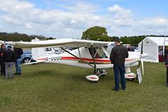 G-UUUU Ikarus Comco C-42 (graham19492000) Tags: pophamairfield guuuu ikarus comco c42