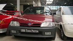 Conservatoire Citroën - Aulnay-sous-Bois (Mic V.) Tags: vintage collection classic conservatoire citroën citroen musée musee museum french car voiture aulnaysousbois 1996 proton tiara ax malaysia malaysian