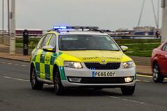 North West Ambulance - PG66 OOY (peco59) Tags: pg66ooy skoda octavia emergencyambulance nwas northwestambulance paramedic ambulance