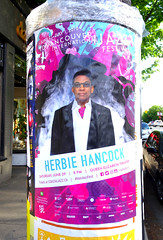 Herbie Hancock (knightbefore_99) Tags: bc vancouver canada cool awesome jazz festival poster gig show stage live concert queen elizabeth theatre classic art music coastal