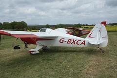 G-BXCA (IndiaEcho) Tags: gbxca hapi cygnet eghp popham airport airfield light general civil aircraft aeroplane aviation basingstoke hampshire england canon eos 1000d microlight fly in