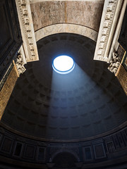 Let There Be Light (Feldore) Tags: rome pantheon sun rays oculus architecture roman ancient temple italy feldore mchugh em1 olympus 1240mm