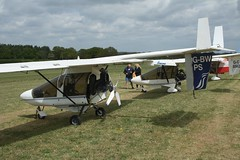 G-BWPS (IndiaEcho) Tags: gbwps cfm streak shadow eghp popham airport airfield light general civil aircraft aeroplane aviation basingstoke hampshire england canon eos 1000d microlight fly in