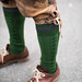 Lederhosen, green knee socks and leather shoes