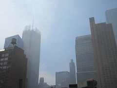 2019 Sunday Morning Hazy Smoke from Fire in Times Square 8820 (Brechtbug) Tags: 2019 sunday morning hazy smoke from fire times square virtual clock tower turned off hells kitchen clinton near broadway nyc 05192019 new york city midtown manhattan spring springtime weather building dark low hanging cumulonimbus cumulus nimbus cloud hell s nemo southern view smells pretty bad
