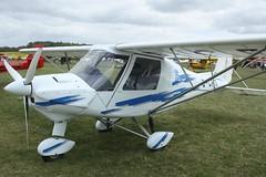 G-CFIT (IndiaEcho) Tags: gcfit ikarus c42 eghp popham airport airfield light general civil aircraft aeroplane aviation canon eos 1000d basingstoke hampshire england