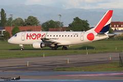 Embraer ERJ -170LR HOP F-HBXL 17000009 Entzheim Evadays avril 2019 (Thibaud.S.) Tags: embraer erj 170lr hop fhbxl 17000009 entzheim evadays avril 2019