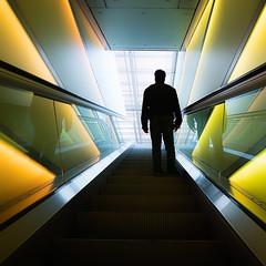 P5060196-couleur (omj11) Tags: zurich architecture suisse urbain couleurs poselongue carré olympus escalator