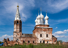 Abandoned Church (gubanov77) Tags: church ruined abandoned dunilovo russia architecture building