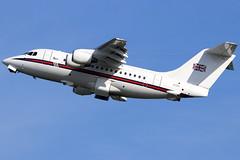 ZE701_06 (GH@BHD) Tags: ze701 britishaerospace 146 bae146100 bae146 bae146cc2 royalairforce no32sqn raf military transporter transport vip corporate executive aircraft aviation airliner bhd egac belfastcityairport