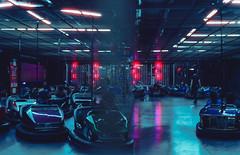 Coney29 (marcel.mankus) Tags: cinestill 800 800t tungsten contax g2 analog film 35mm night nyc newyork lights neon