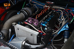 (Sam Tait) Tags: santa pod raceway england drag racing race track doorslammers toyota supra 2jz turbo engine 6 cylinder