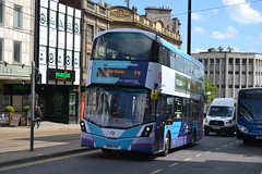 First Wright StreetDeck 35318 SN18XYR - Sheffield (dwb transport photos) Tags: first wright streetdeck bus decker 35318 sn18xyr sheffield