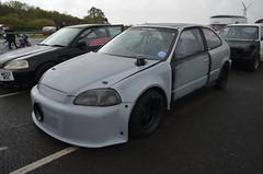 (Sam Tait) Tags: santa pod raceway england drag racing race track doorslammers honda civic